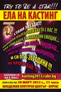 Poster-kasting